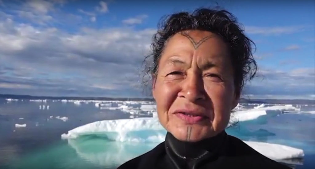 Inuit Elder's First Time Snorkeling in the Arctic